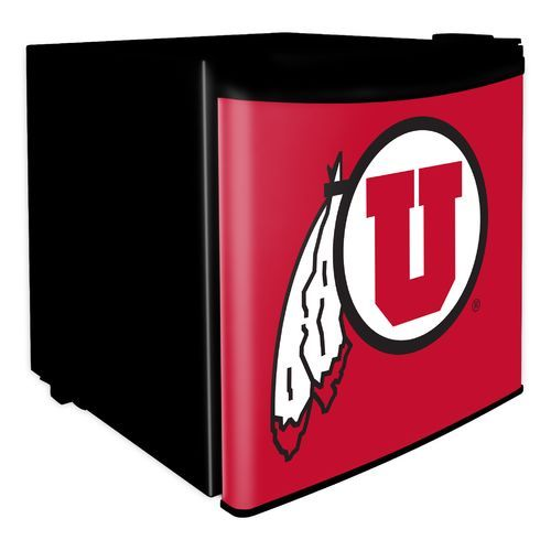 Boelter Brands University Of Utah 1.7 Cu. Ft. Dorm Room Refrigerator  (Black, Size )   NCAA Licensed Product, NCAA Accessories At Academy Sports Part 96