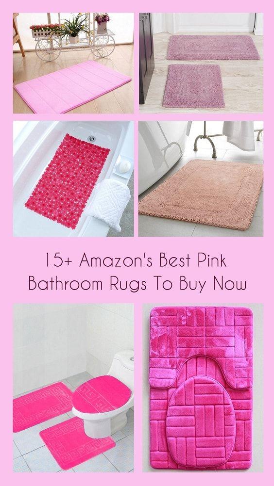 15 + Amazonas besten rosa Bad Teppiche zu kaufen Badewanne