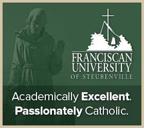 GREAT CATHOLIC WEBSITE!  FAITH  REASON- FRANCISCAN UNIVERSITY OF STEUBENVILLE!