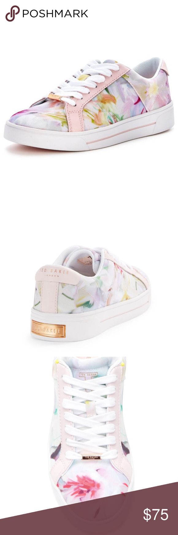 TED BAKER Eyewo Sneakers Floral upper  Rubber sole  Low profile  Floral print  1 1/4 heel  Size: US 6   Condition: No stains, wear or tear.   ​☑️​No Pets  ​☑️​Non-Smoking home  ​☑️​Every item steamed throughly before shipped!  ​💌​ Ships from Santa Monica, CA  ​🗝​Follow me on Instagram! @koukil1908 ask to have a video of the item ​✌️ Ted Baker London Shoes Sneakers
