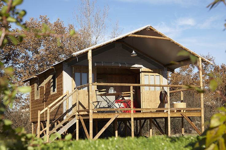 WAUW *** Camping Laspatrasses Verhuur luxe camping Dordogne in