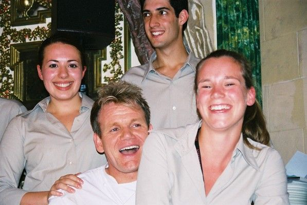 High Society Staff members working with Gordon Ramsey!