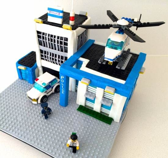 lego city cake howtocookthat