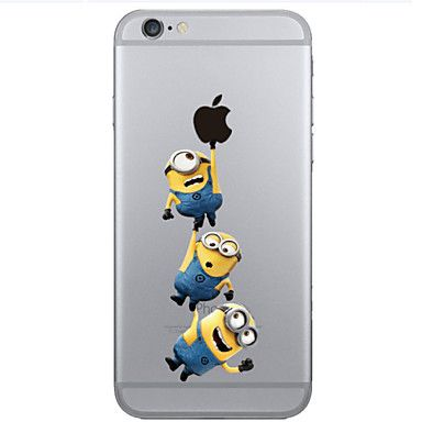 patrón de la gente de color amarillo TPU teléfono basado en software para el iphone 6 / 6s – EUR € 3.91