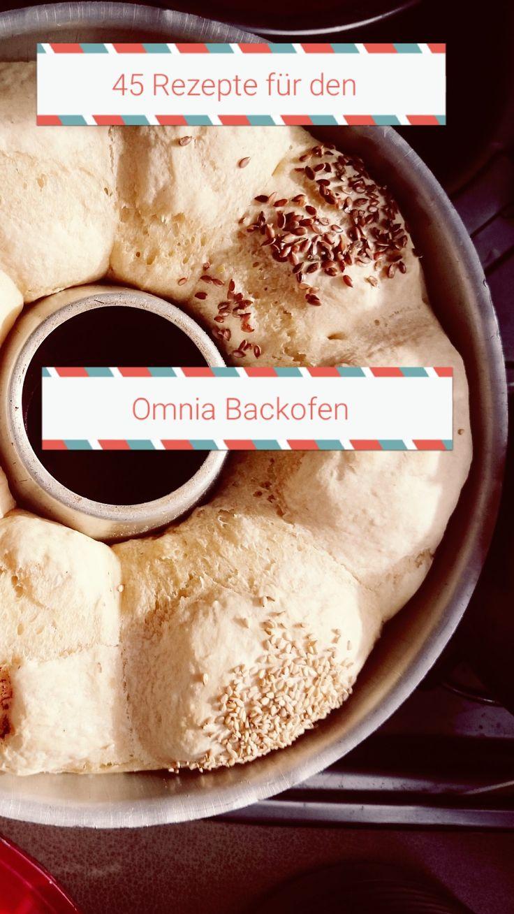 45 Rezepte für den Omnia Camping Backofen! Süß und herzhaft! Kuchen, Brot, Aufläufe ...