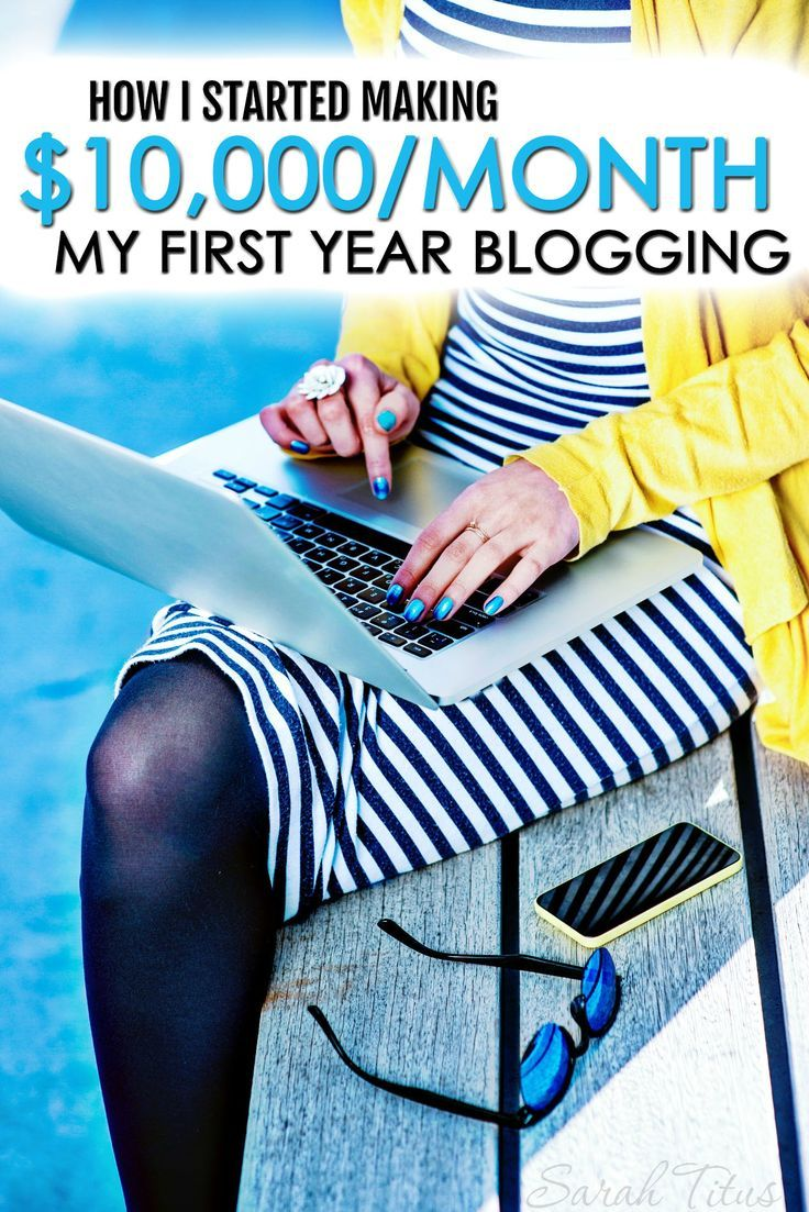 Who says it takes years to grow a successful blog? I hit near a million in pageviews and $10,000/month income by time I was a year blogging!