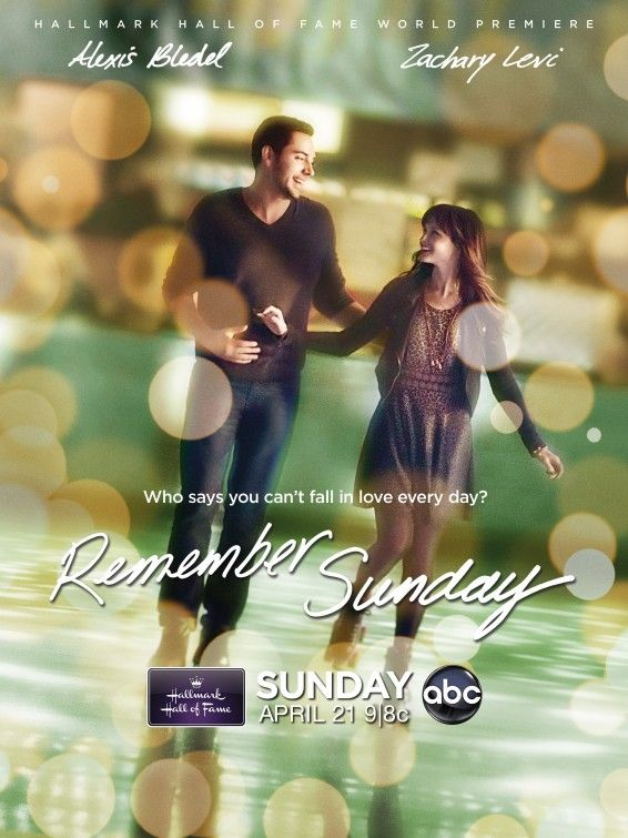 Remember Sunday.... one of the best movies I've seen in a long time! and its a Hallmark movie but not corny or predictable like they usually are lol