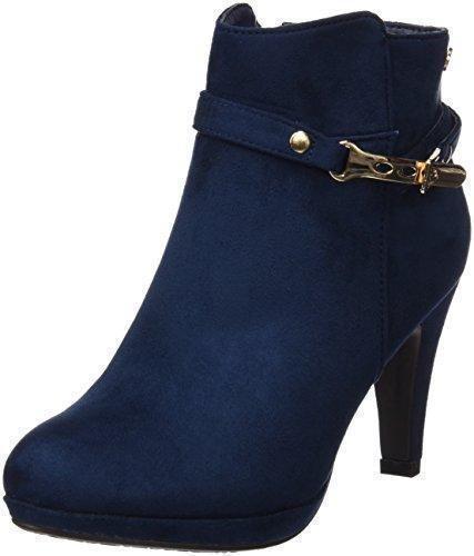 Oferta: 49.95€. Comprar Ofertas de Xti Botin Sra. Antelina 46013, Zapatos De Tacón, Mujer, Azul (Navy), 36 barato. ¡Mira las ofertas!