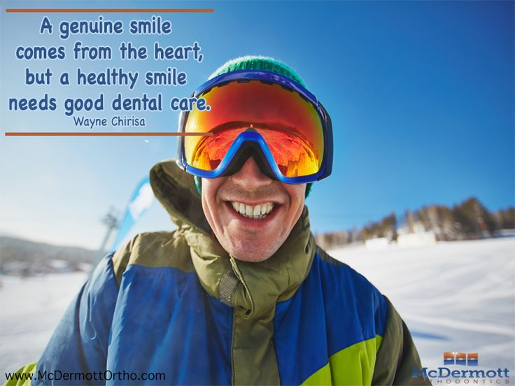 A genuine smile comes from the heart, but a healthy smile needs good dental care – Wayne Chirisa