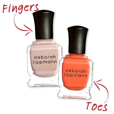 finger and toe polish combos | Cute Nail Polish Combos for Your Fingers and Toes