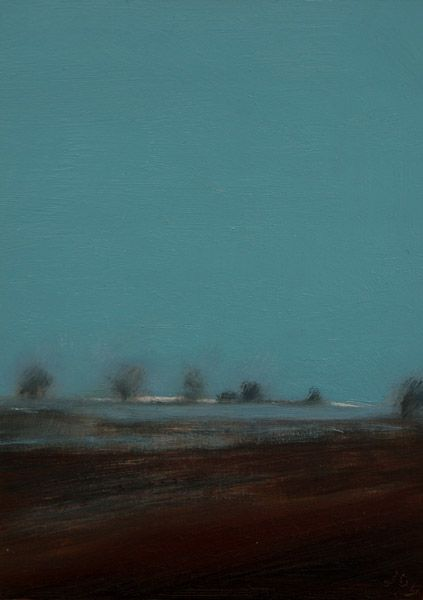 The Flatlands #153 by John O' Grady,   Irish, Landscape, original painting, for sale