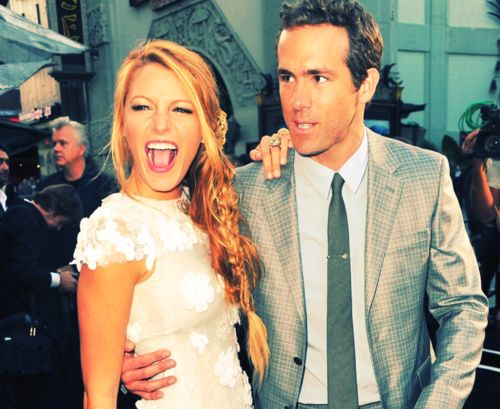 Two of the most attractive people on the planet..just so happen to be together   Love Ryan and Blake :)