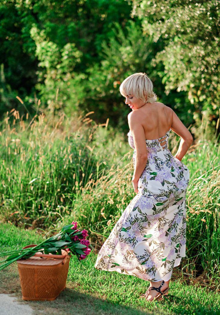 Plum Pretty Sugar Maxi Floral Dress by Atlanta fashion blogger Chelissima