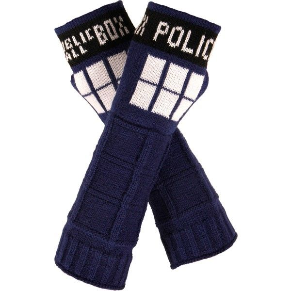 Doctor Who: TARDIS Arm Warmers Want to keep your arms warm on Halloween or anytime? Then these TARDIS arm warmers are for you! Complete your look with a TARDIS Dress, Skirt or T-Shirt!