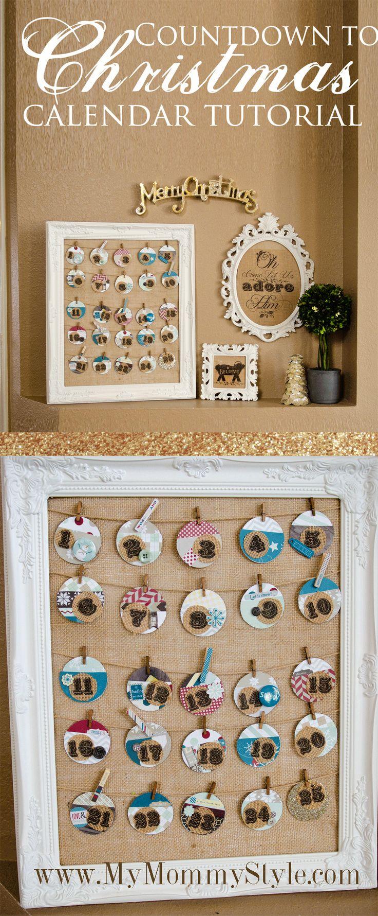 Countdown to Christmas Calendar {Christmas Tradition Series}