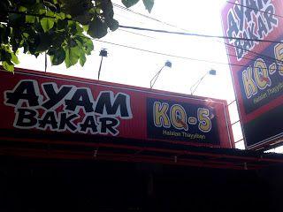 Kuliner Ojek Kilat Malang: AYAM BAKAR KQ5