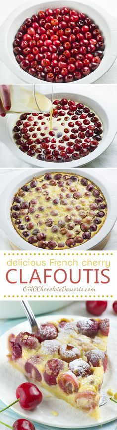 Have you ever tried Cherry Clafoutis before?! It is delicious dessert made with fresh, sweet, juicy cherries that it's ridiculously easy to make and totally budget friendly!!!
