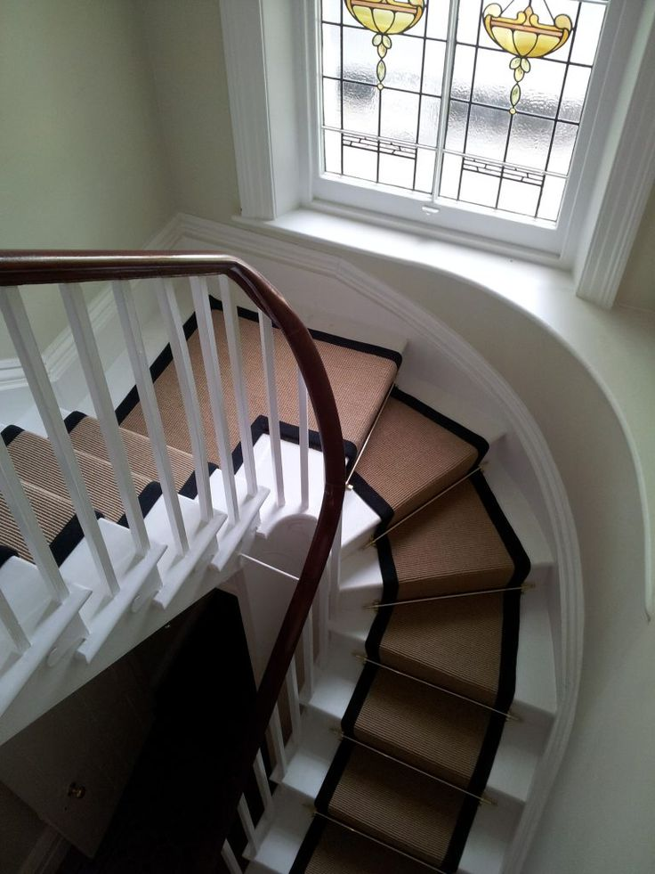 Best How To Fit Stair Runners To Winding Stairs Sisal Stair 400 x 300
