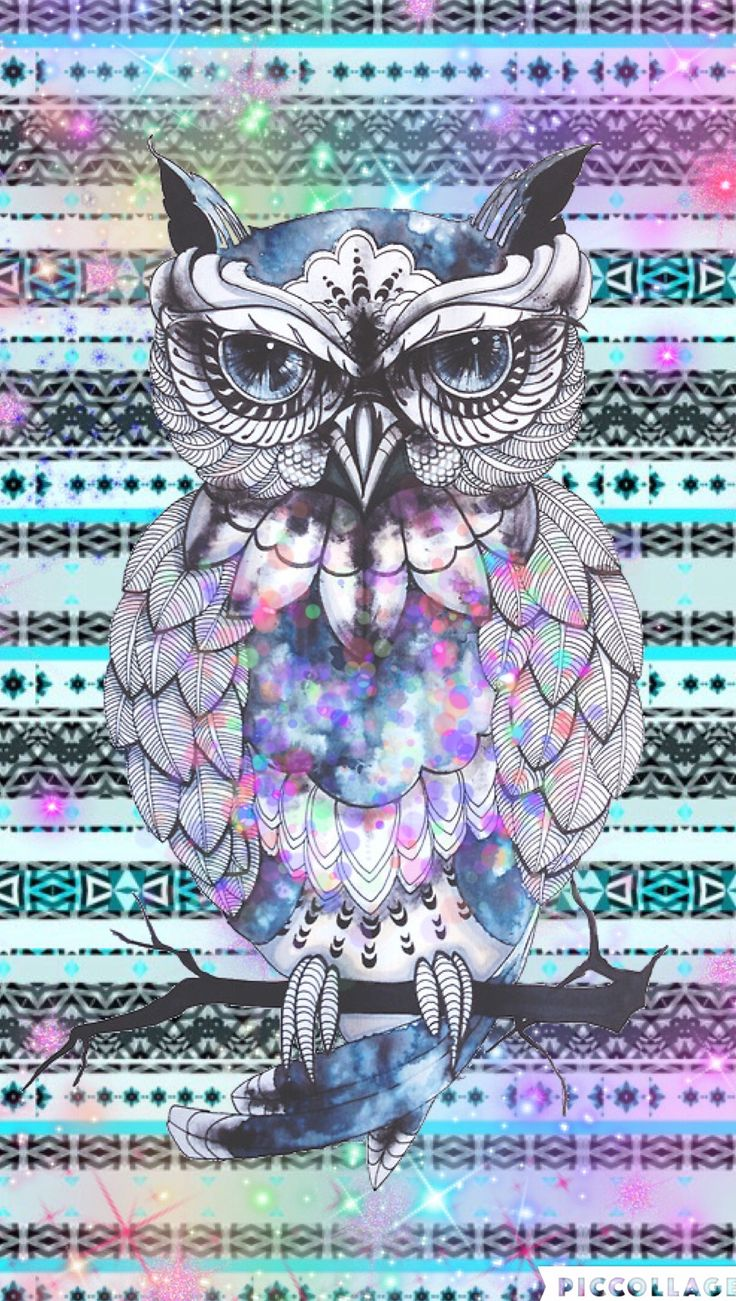 Owl hispter cute by Rose