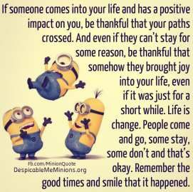 Remember The Good Times Rainbow Board Minions Quotes Quotes