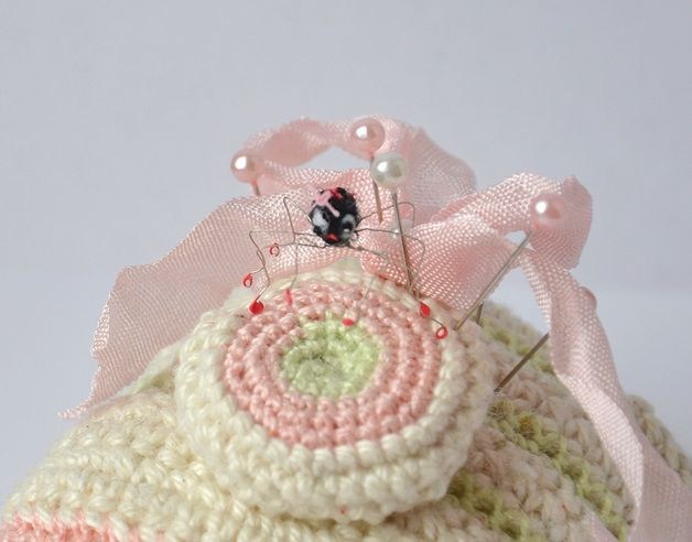 "Toy Animals & Monster Toys – Crochet miniature little spider ""She is"" – a unique product by TinyCrochetedFriends on DaWanda"