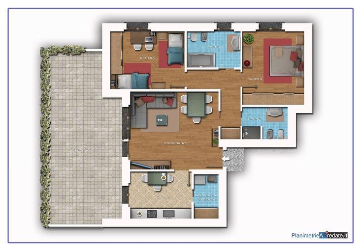 Oltre 10 fantastiche idee su planimetrie su pinterest for Ranch home progetta planimetrie