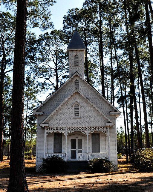 Cute Little Church in Ruskin Georgia.