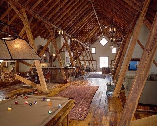 Attic Rooms That Have Been Transformed Into Amazing Spaces Pics)