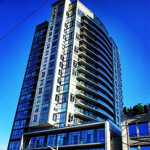 Our property at 530 St. Clair West, standing tall at Bathurst and St. Clair!