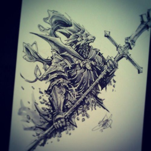 ornstein tattoo dark souls - Google Search