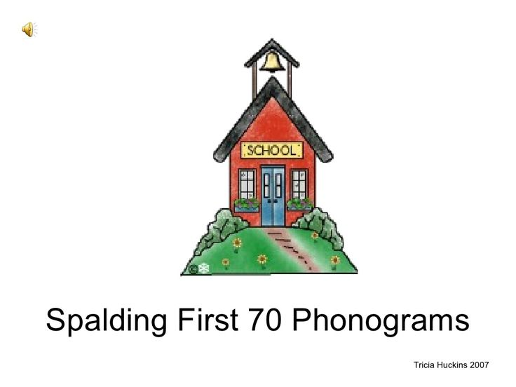 spalding-phonograms by vcsweb via Slideshare