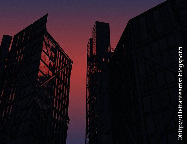 dilettante artist: Night Sky