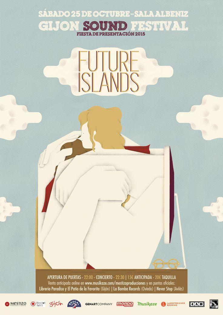 FUTURE ISLANDS+CELEBRATION Sábado, 25 de Octubre de 2014 Teatro Albéniz Gijón, Asturias (ESPAÑA)