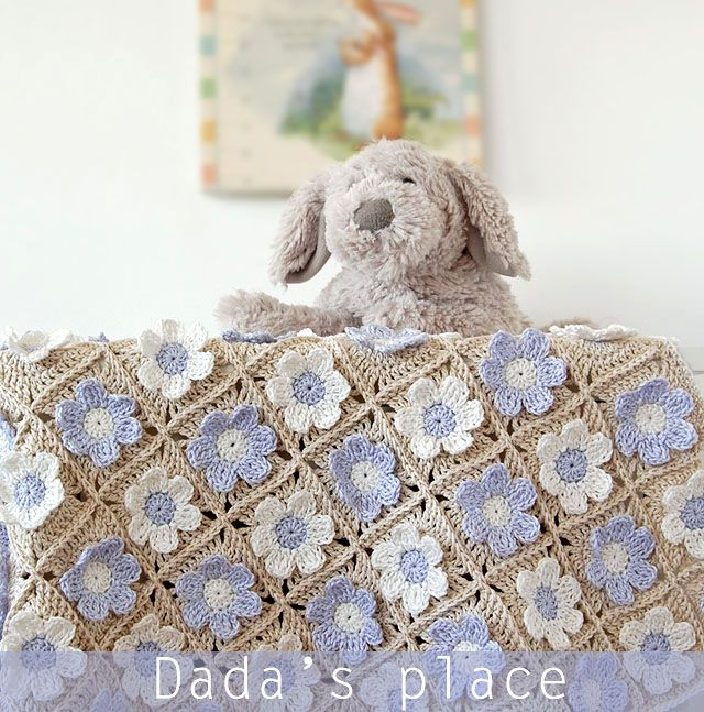 Dada's place: Guess How Much I Love You Baby Blanket Pattern