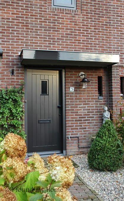 mooie kleur voordeur