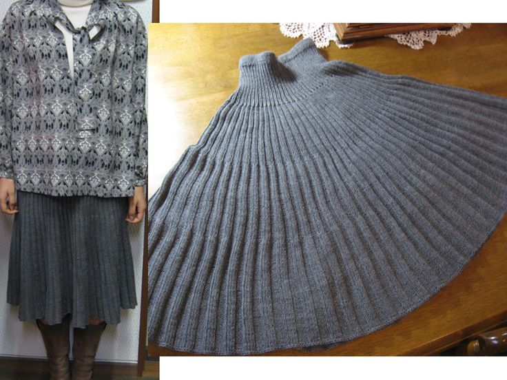 Knit Skirt, Japanese pattern, but so purty
