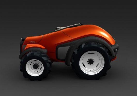 Tractor Wheels Concept : Valtra robotrac autonomous tractor design