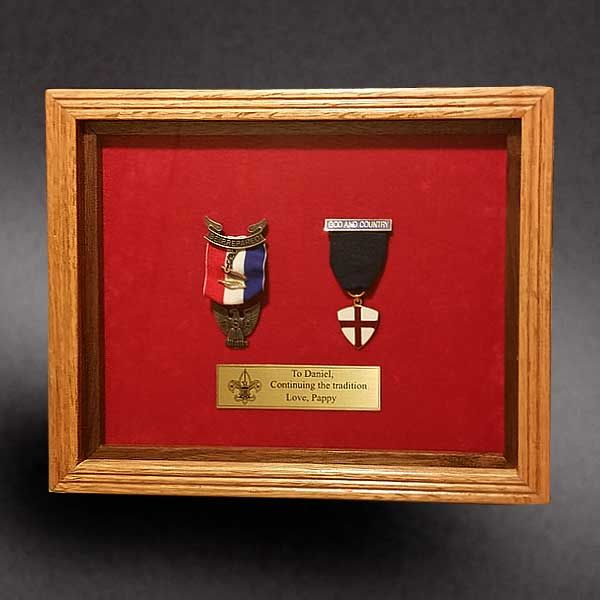 18 Best Eagle Scout Shadow Boxes Images On Pinterest