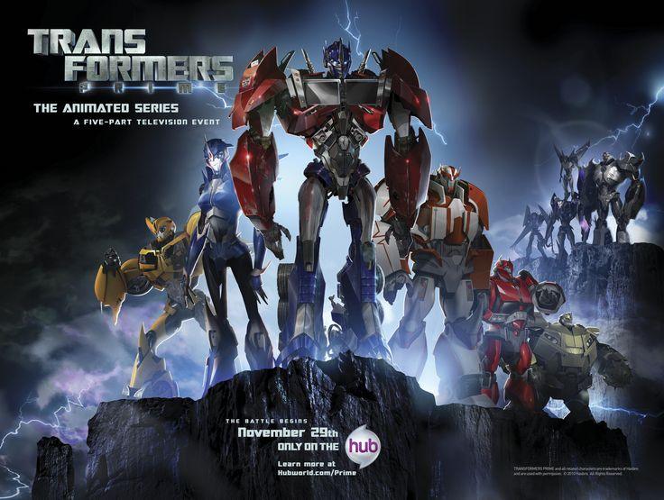 "transformers manga | 11/24/2010 - ""Transformers: Prime"" Debuts this Friday, Nov. 26th!"