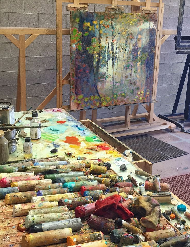 large panel underway at Rick Stevens Studio