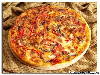 Рецепт деревенская пицца pizza mia