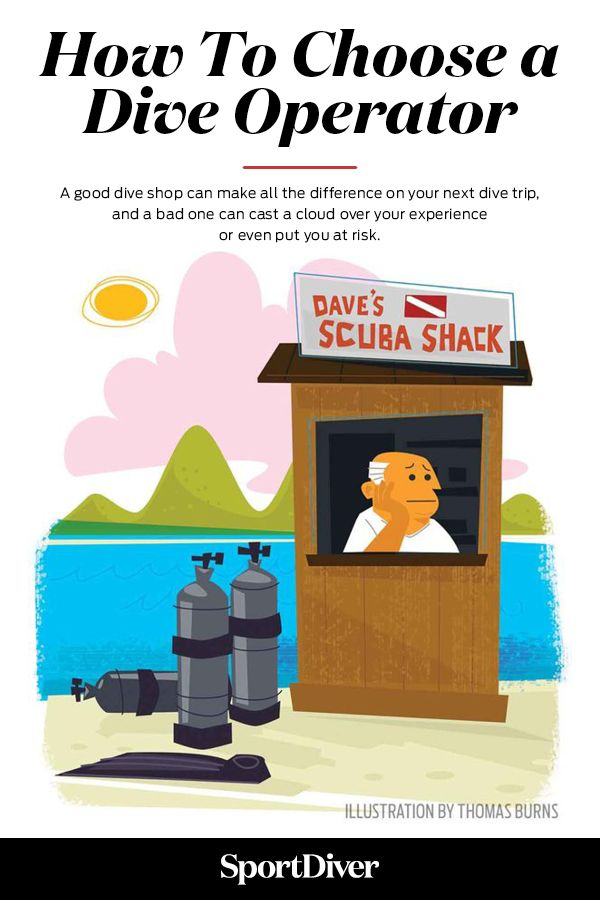 How To Choose a Scuba Diving Operator — A good dive shop can make all the difference on your next dive trip, and a bad one can cast a cloud over your experience or even put you at risk. To help you out, here are five steps for doing your homework on dive shops before your next trip.
