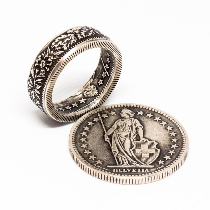 These 'coin' rings are available in all sizes,  and each one is handcrafted to order. Click on the image or Check it out button for more details about this ring.