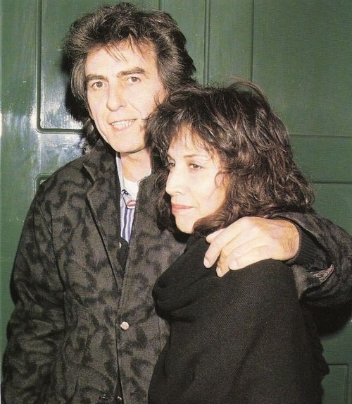 George and Olivia Harrison, possibly 3 March 1988