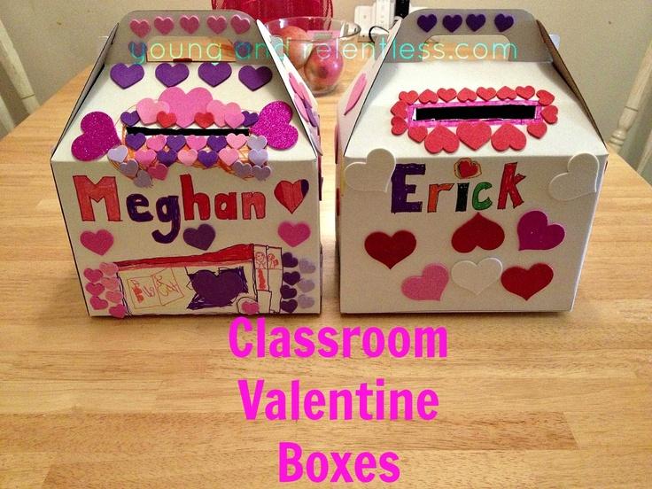 Classroom Valentine Boxes school