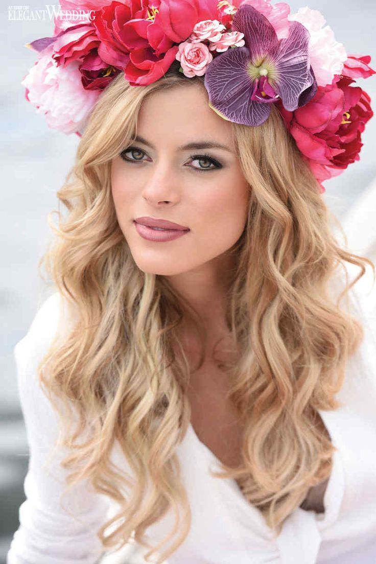 Wedding Makeup | Flower Crown | Boho Chic