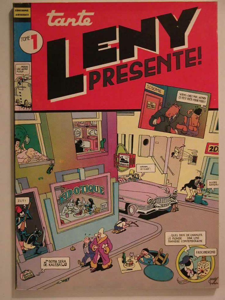 Tante Leny présente! n°1 - couverture de Joost Swarte - Artefact édition http://www.dreamsbd.fr/images/ALBUMS/images/images/2DSCN0311_JPG.jpg