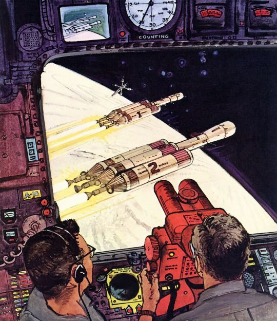 The Vault Of Retro Sci Fi: 148 Best Robert (Bob) McCall SF Images Images On Pinterest