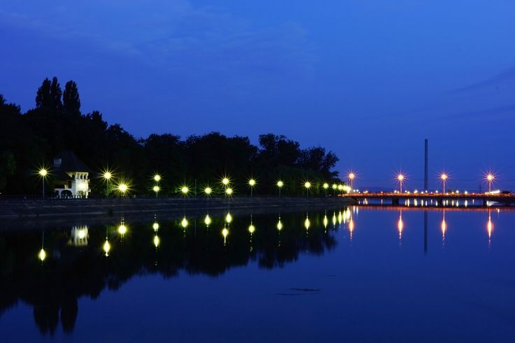 Night on the lake by Costin Mugurel on 500px