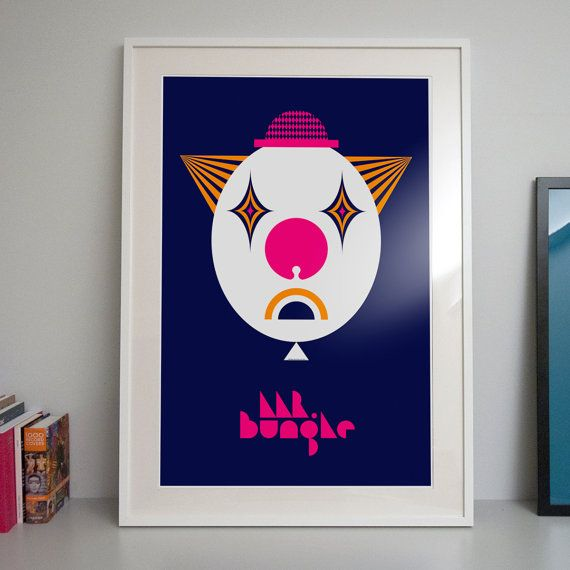 Mr.Bungle Poster by JerzySkakunHomework on Etsy, €50.00